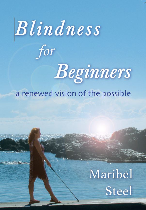 Book Cover Blindness for Beginners by Maribel Steel