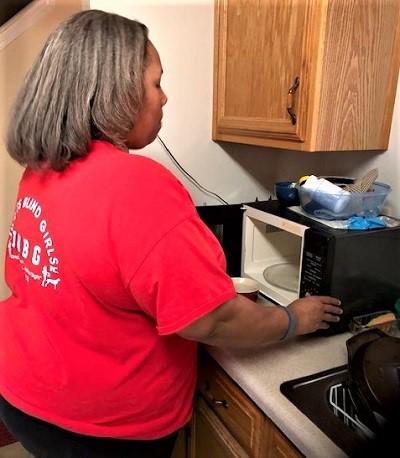 Empish using microwave