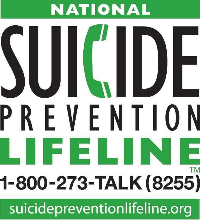national suicide prevention lifeline logo national suicide prevention lifeline logo with lifeline number: 1-800-273-talk (8255) https://suicidepreventionlifeline.org/media-resources/